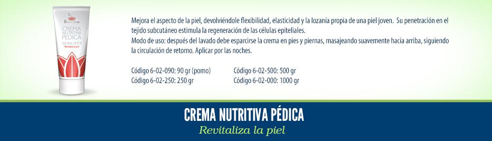 01 Crema Nutritiva Pedica