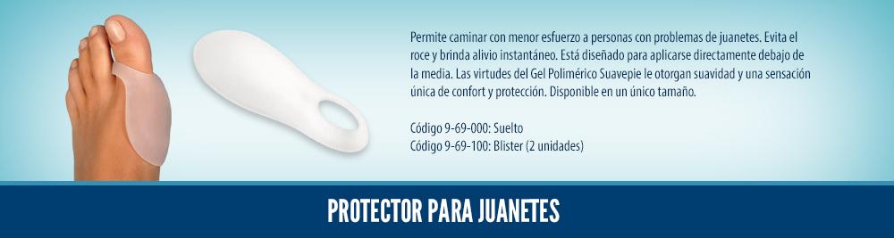 Protector para juanetes