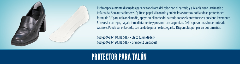 24 Protector para talón